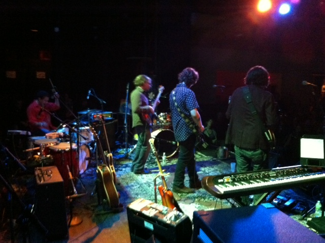 The Connor Kennedy Band at The Bearsville Theater, 7-20-12. Photo by Justin Foy.